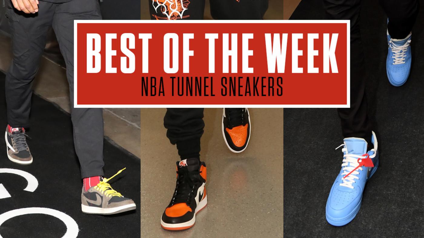 NBA tunnel Kicks Week 8 Lead