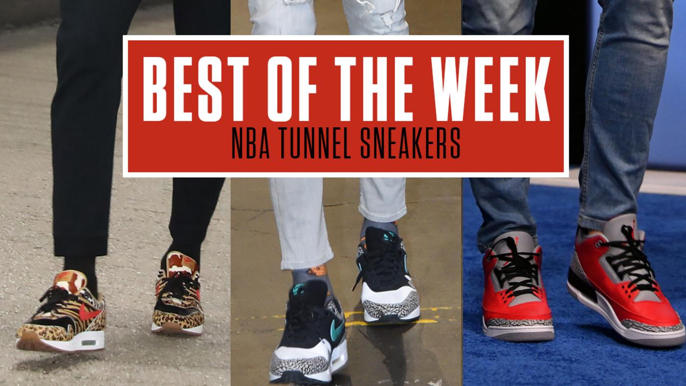 Best NBA Tunnel Sneakers Week 7