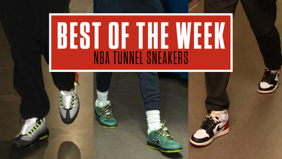 Best NBA Tunnel Sneakers Week 3