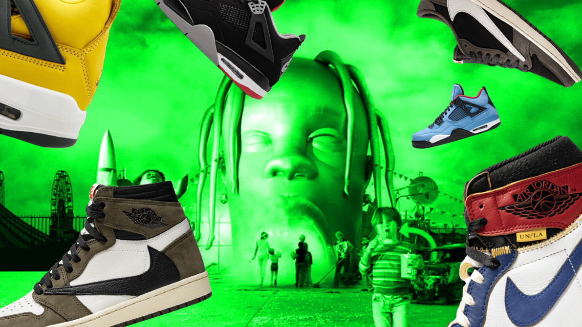The Best Sneakers Travis Scott Wore During 'Look Mom I Can Fly'