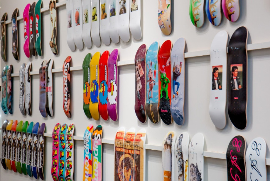 Supreme Decks at Sotheby's