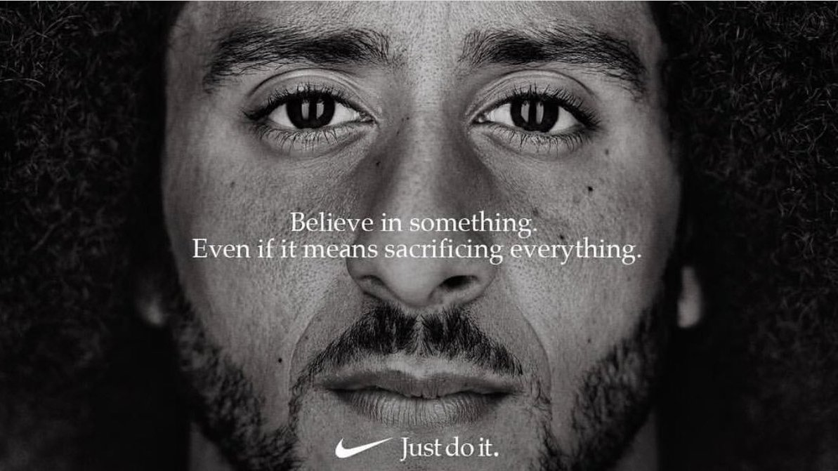 buy popular 43fb6 92cf0 Colin Kaepernick has been announced as the face of Nikes 30th anniversary  Just Do It campaign with a bold new ad proclaiming Believe in something.