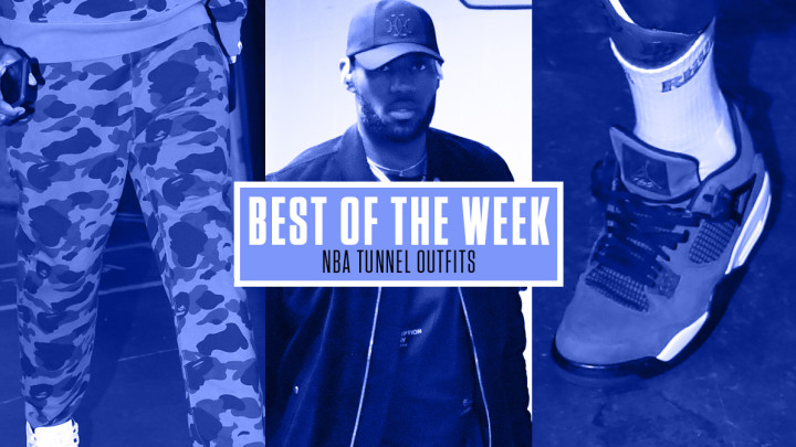 Best NBA Tunnel Outfits Week 3