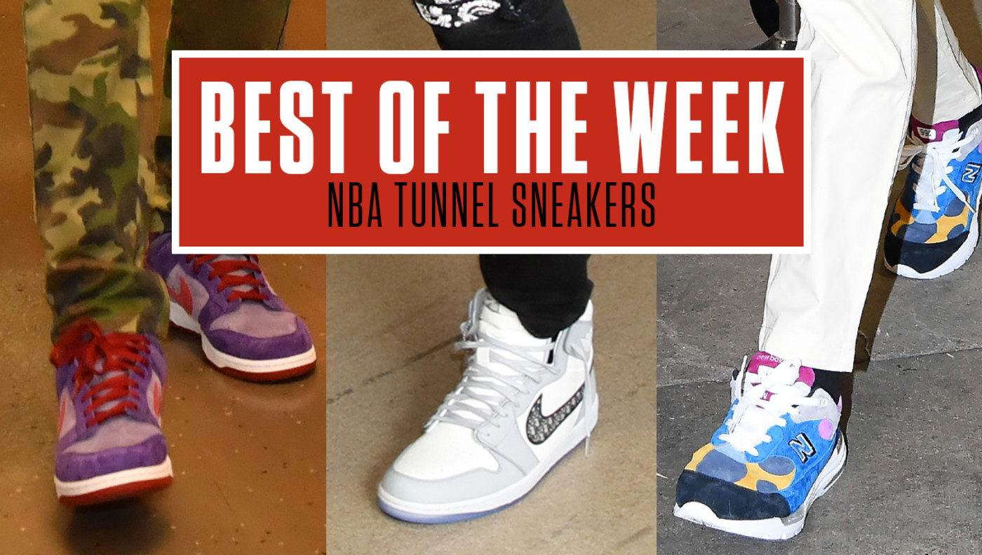 Best NBA Tunnel Sneakers Week 15