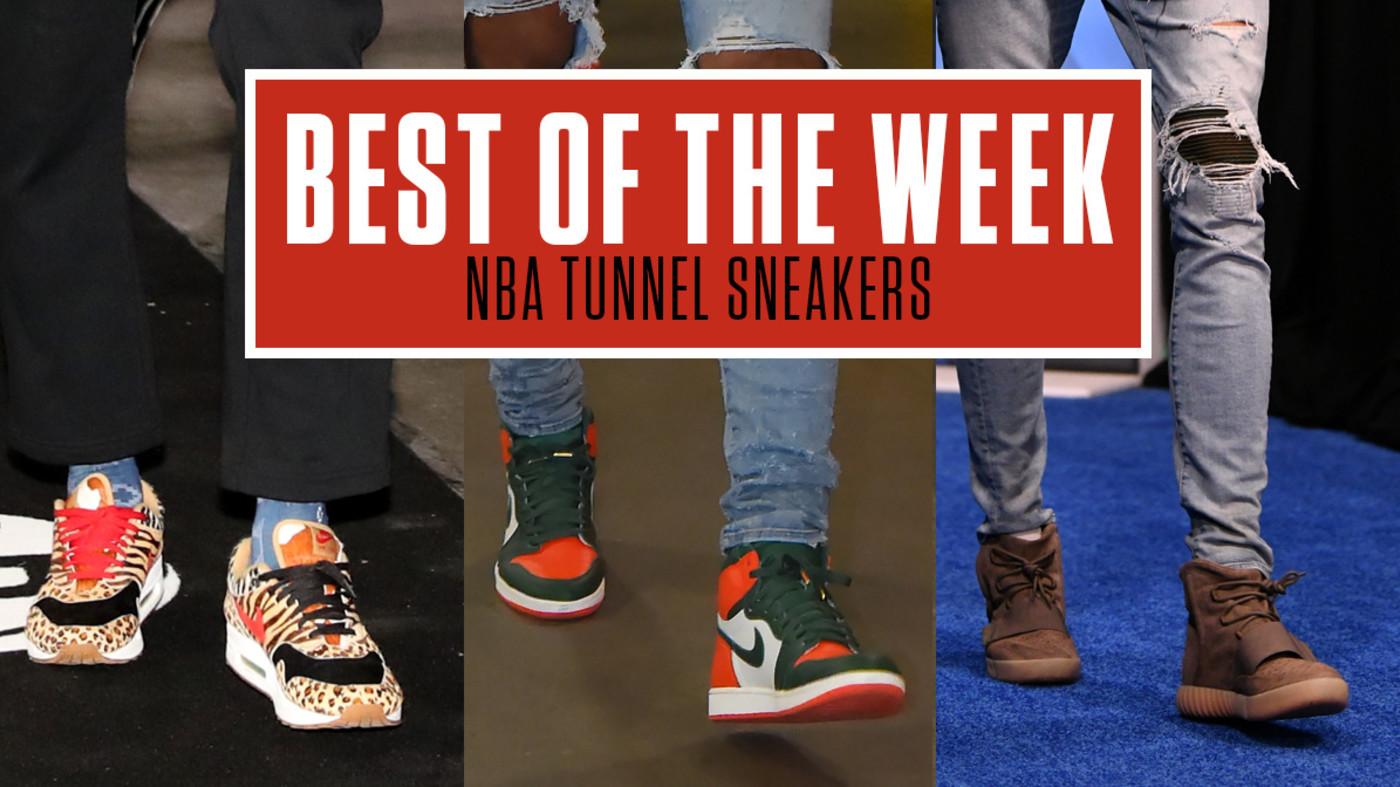 Best NBA Tunnel Sneakers Week 4