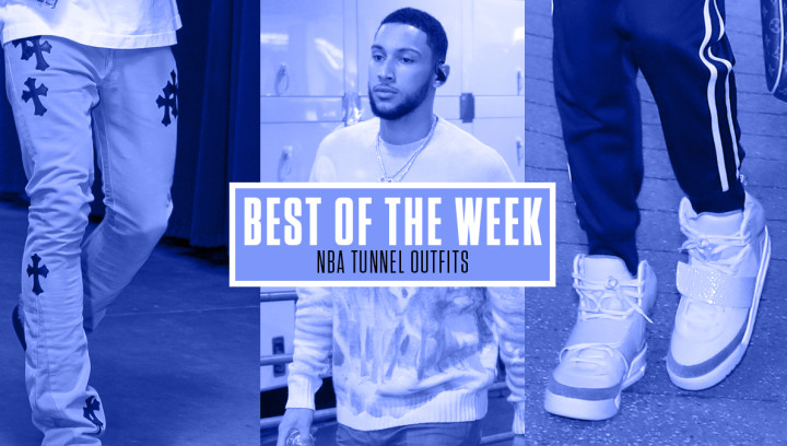 Best NBA Tunnel Outfits Week 2