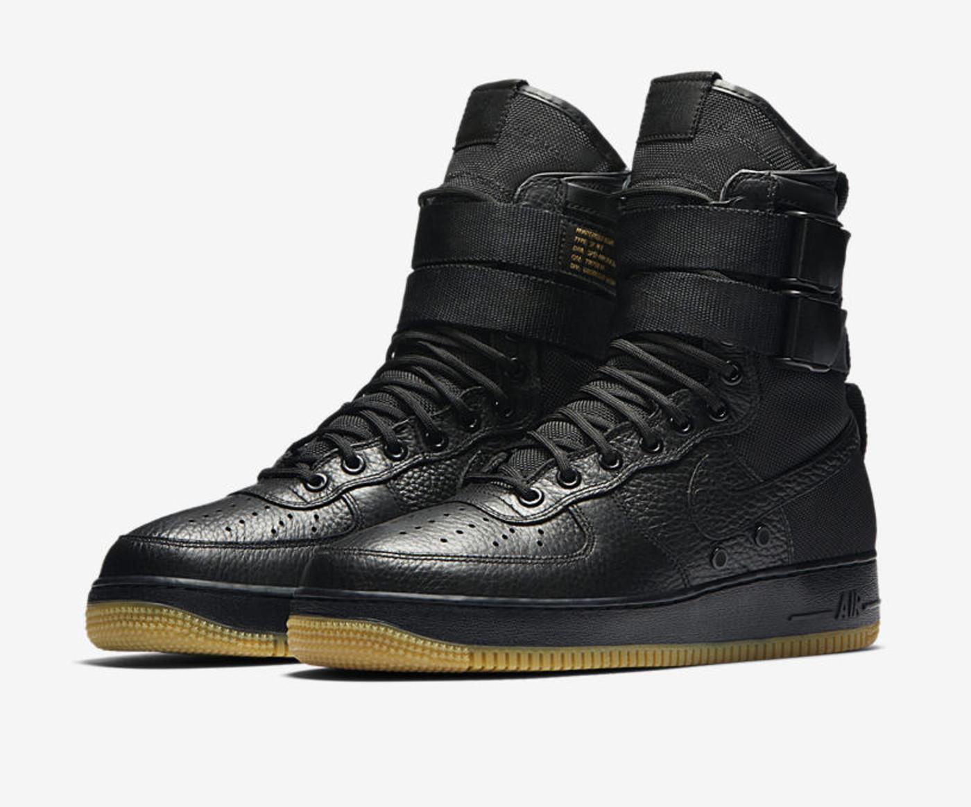 "Nike Special Field Air Force 1 ""Black/Gum"""