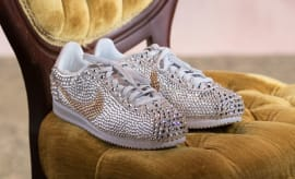 Serena Williams Wedding Crystal Nike Cortez