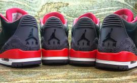 Air Jordan 3 Crimson Snakeskin Sample
