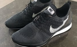 Nike Mariah Racer Black Side