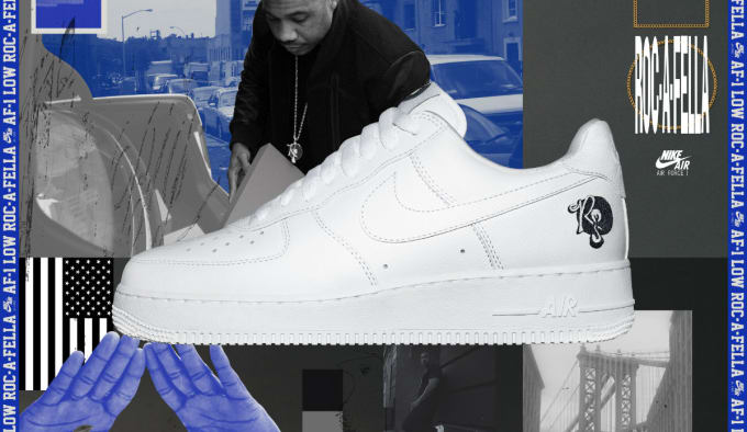 Rocafella x Nike Air Force 1 Low Poster