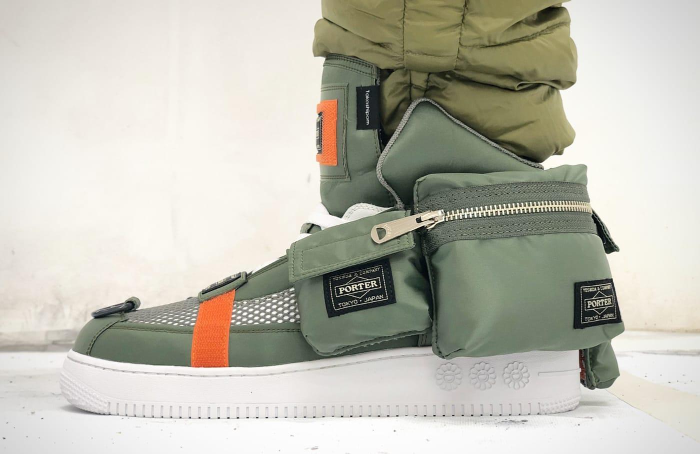 Porter x Takashi Murakami Sneaker (On Foot)