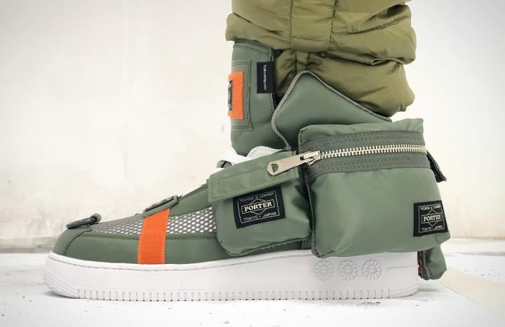 Porter x Takashi Murakami Sneaker (On-Foot)