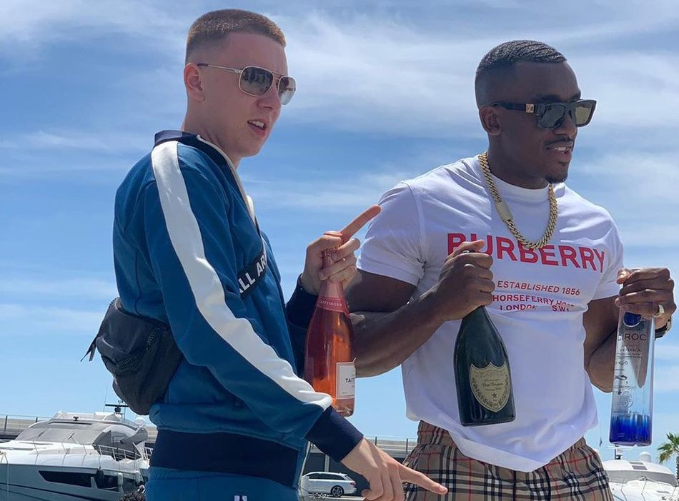 """0161 Spitters Bugzy Malone And Aitch Are On The Run In Visuals For """"Kilos"""""""