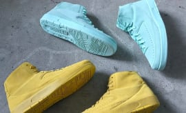 Air Jordan 2 Deconstructed Yellow Mint