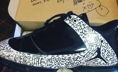 Keegan Bradley Maze Jordan Golf Shoes