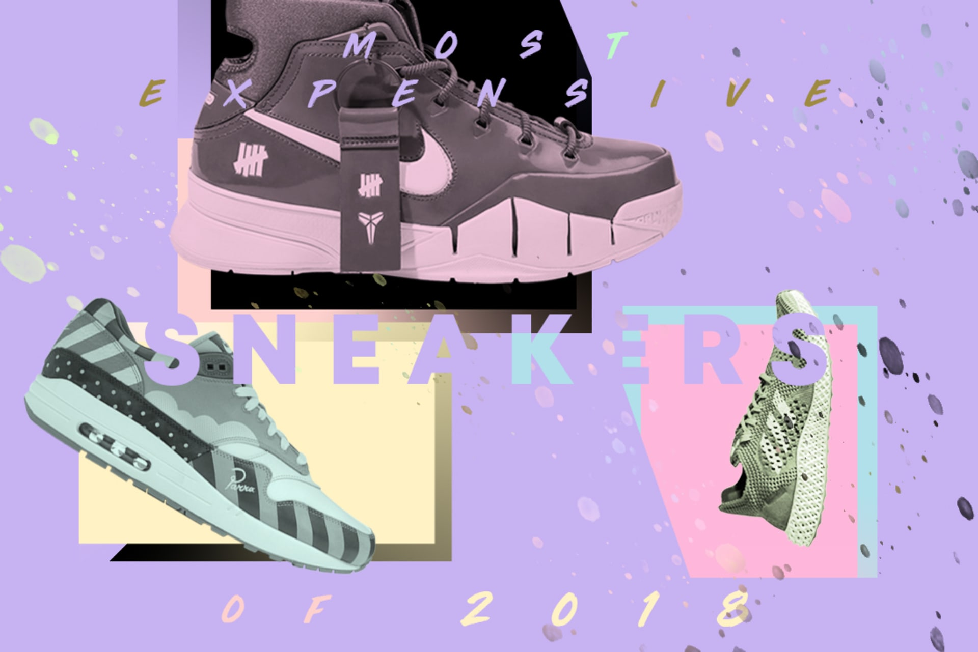 Most Expensive Sneakers 2018