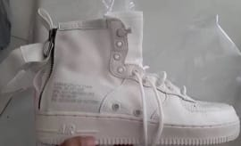 Nike SF Air Force 1 Mid White