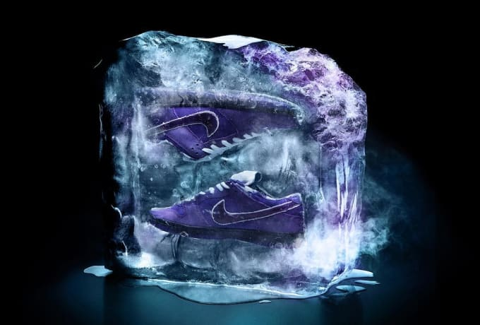 Concepts x Nike SB Dunk Low Purple Lobster Release Date Ice
