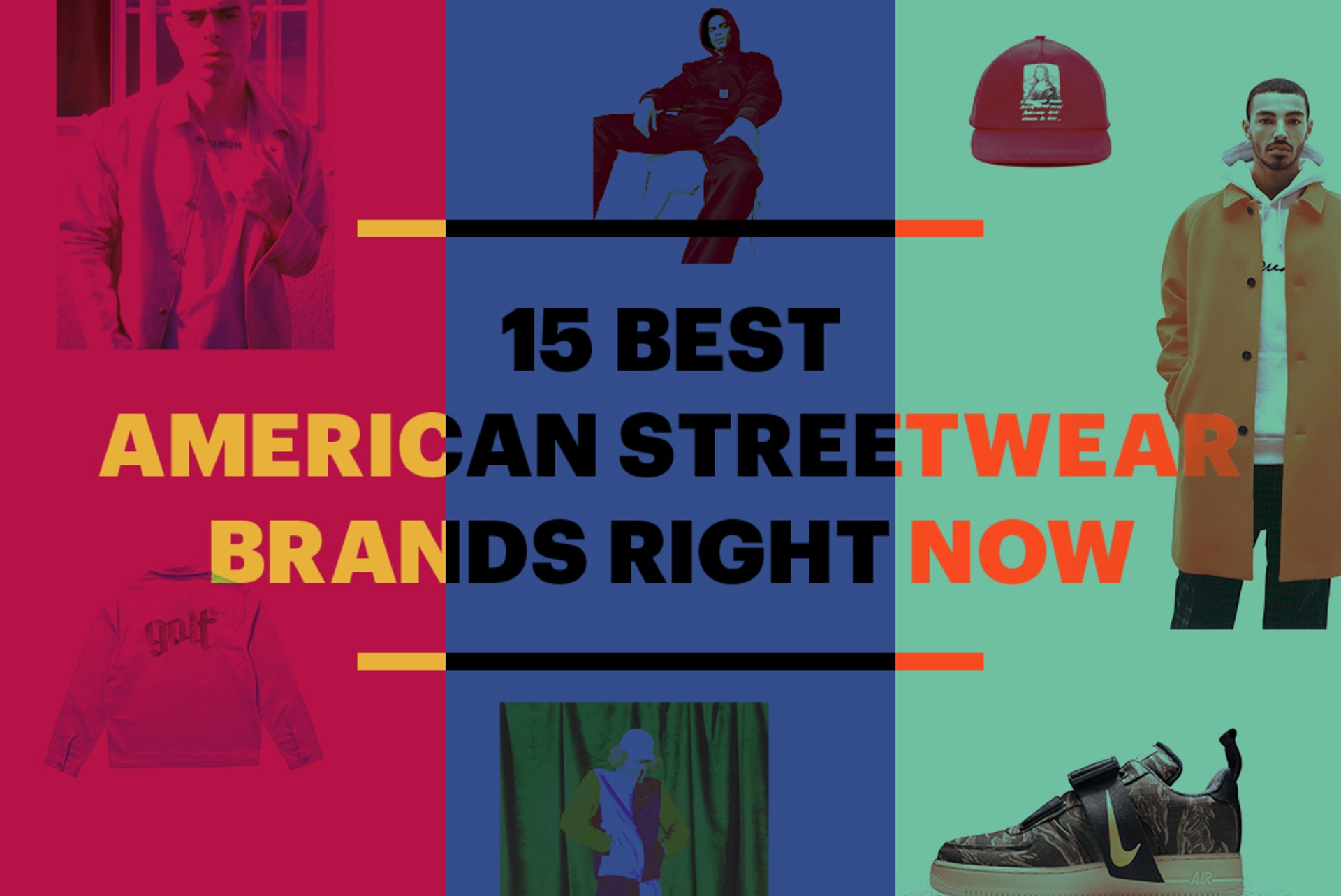 15 Best American Streetwear Brands Cover