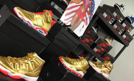Brigetta Barrett Gold Air Jordan Collection