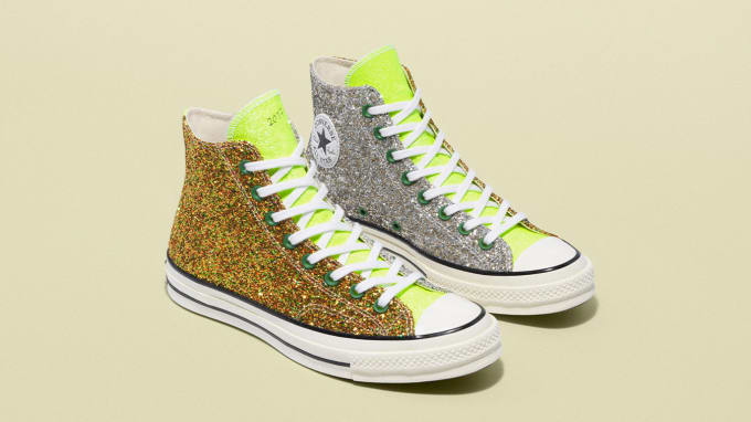 a1a4e3b7cb49 JW Anderson x Converse  Glitter  Collection
