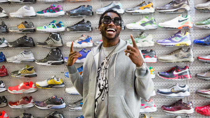 Gucci Mane Is Selling His Sneaker Collection Online 4c15482cb