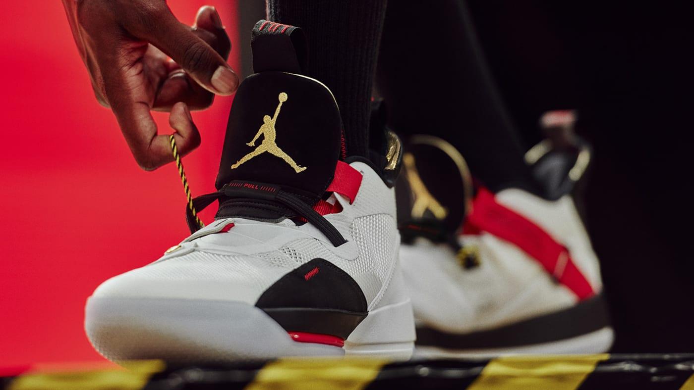 Air Jordan 33 on Foot