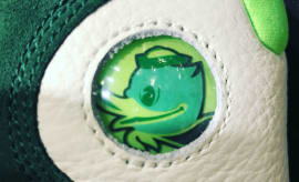 Oregon Air Jordan 13 Logo