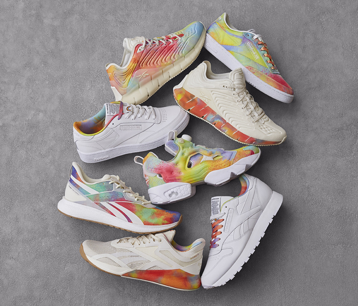 Reebok 'All Types of Love' Collection