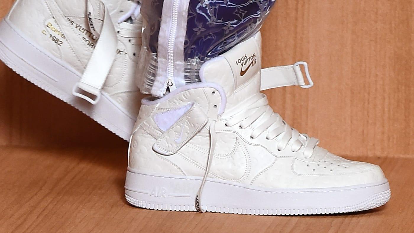 Louis Vuitton x Nike Air Force 1 Virgil Abloh Sneaker Collaboration