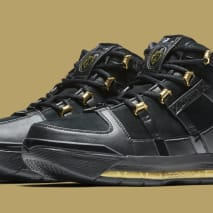 Nike LeBron 3 'Black/Gold' Retro AO2434-001 (Pair)
