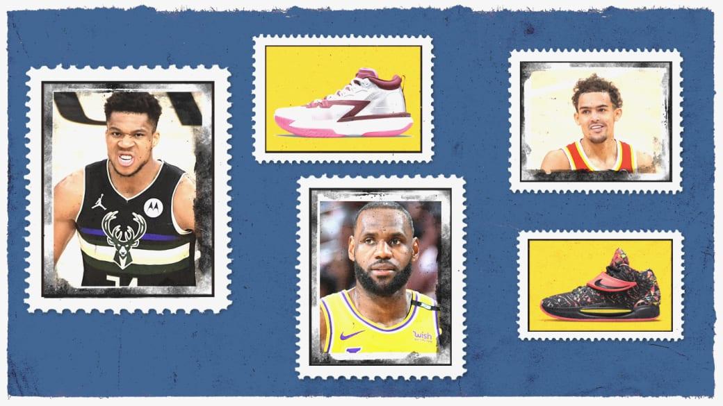 Top NBA Signature Sneakers 2021