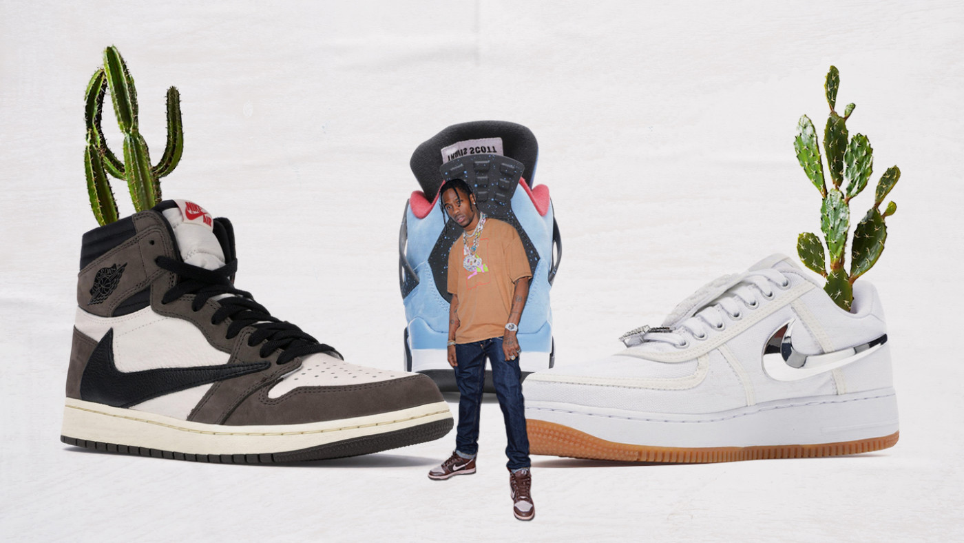 Travis Scott Sneaker Collaborations
