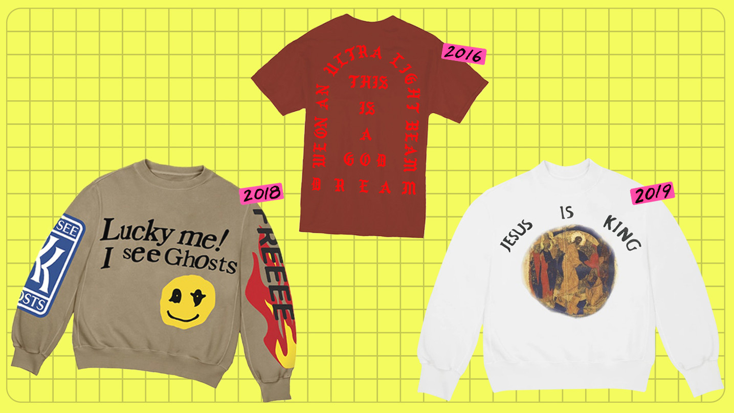 A Timeline of Kanye West's Tour Merch