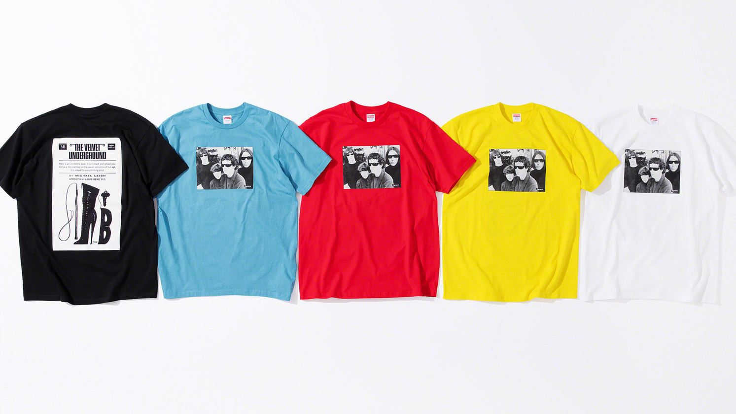 A Brief Guide to the Velvet Underground x Supreme Collection
