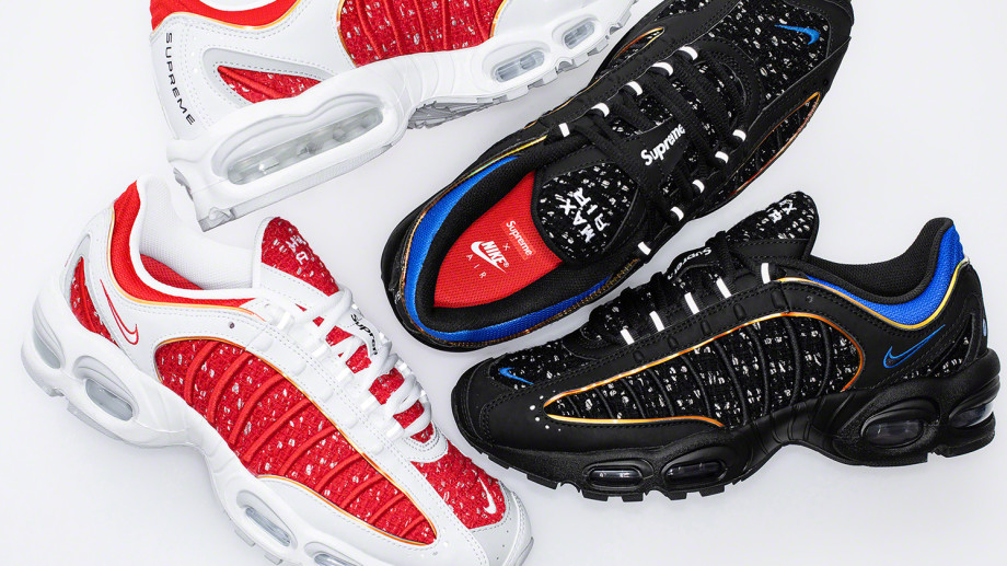 Supreme x Nike Air Tailwind 4 Collection