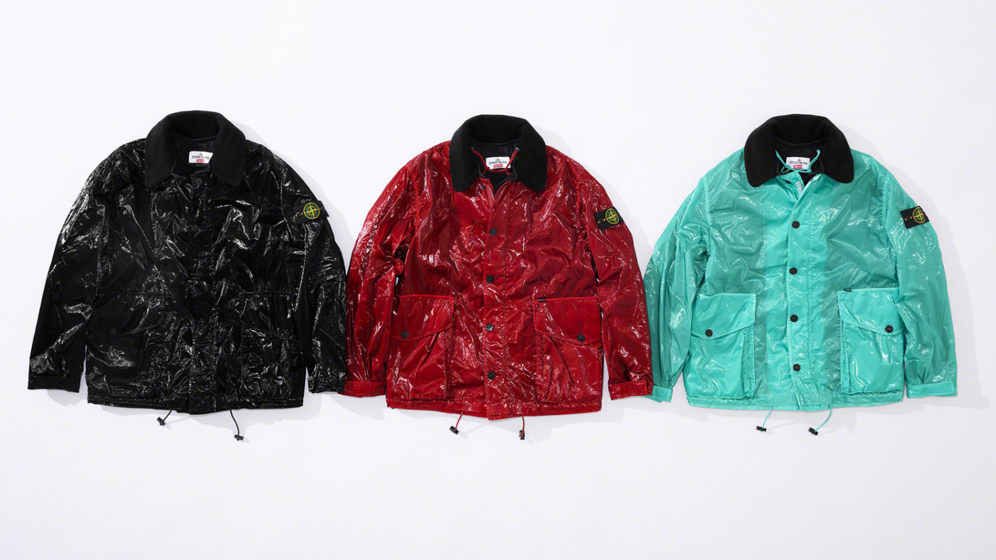 Supreme x Stone Island Spring/Summer 19 Collection