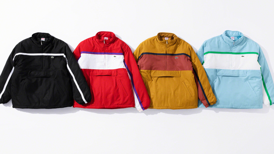 Supreme x Lacoste Collection
