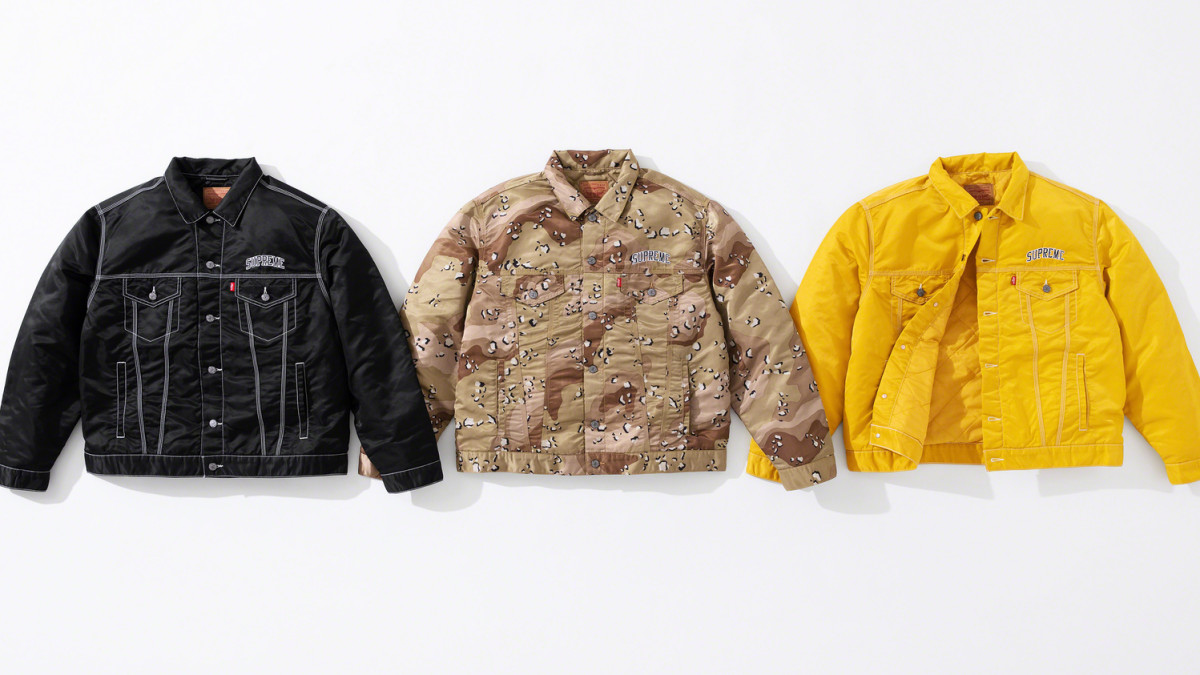Best Style Releases This Week: Supreme x Levi's, Bape x MCM, and Rhude