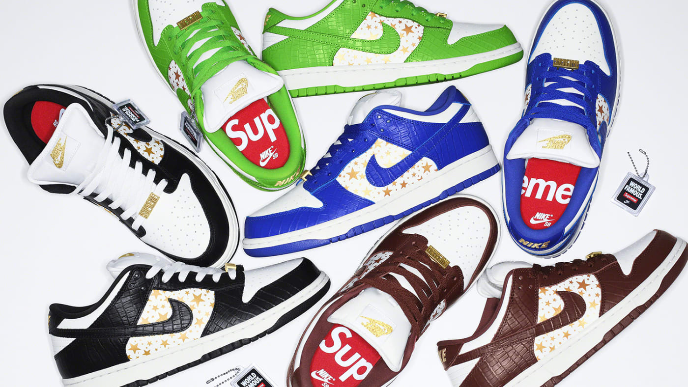 Supreme x Nike SB Dunk Low Spring/Summer '21 Collection