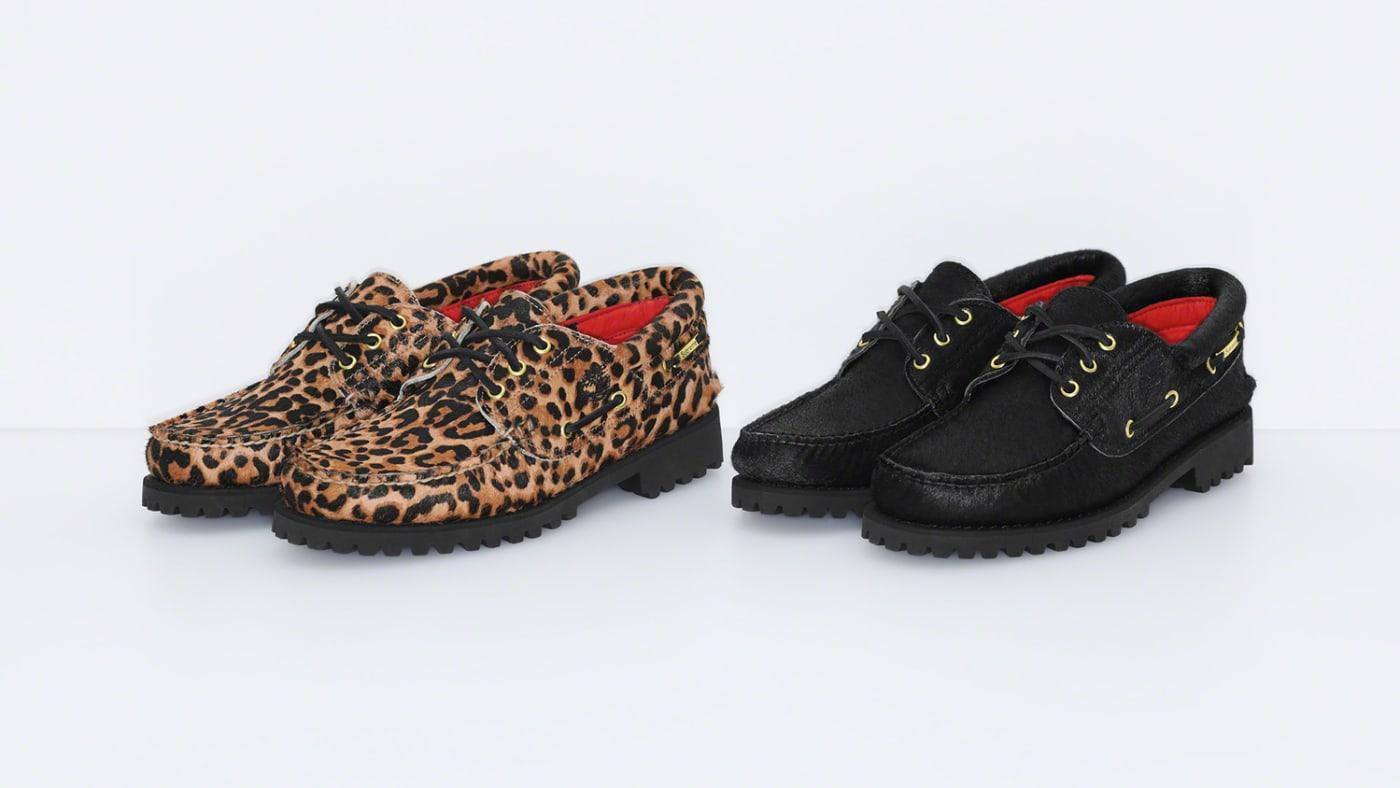 Supreme x Timberland 3 Eye Classic Lug Shoe