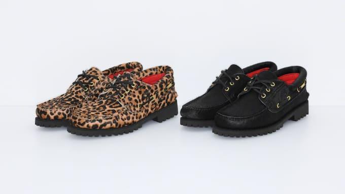 Supreme x Timberland 3-Eye Classic Lug Shoe
