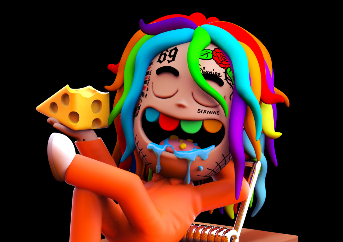 The Story Behind Tekashi 6ix9ine S Rat Cartoon Complex