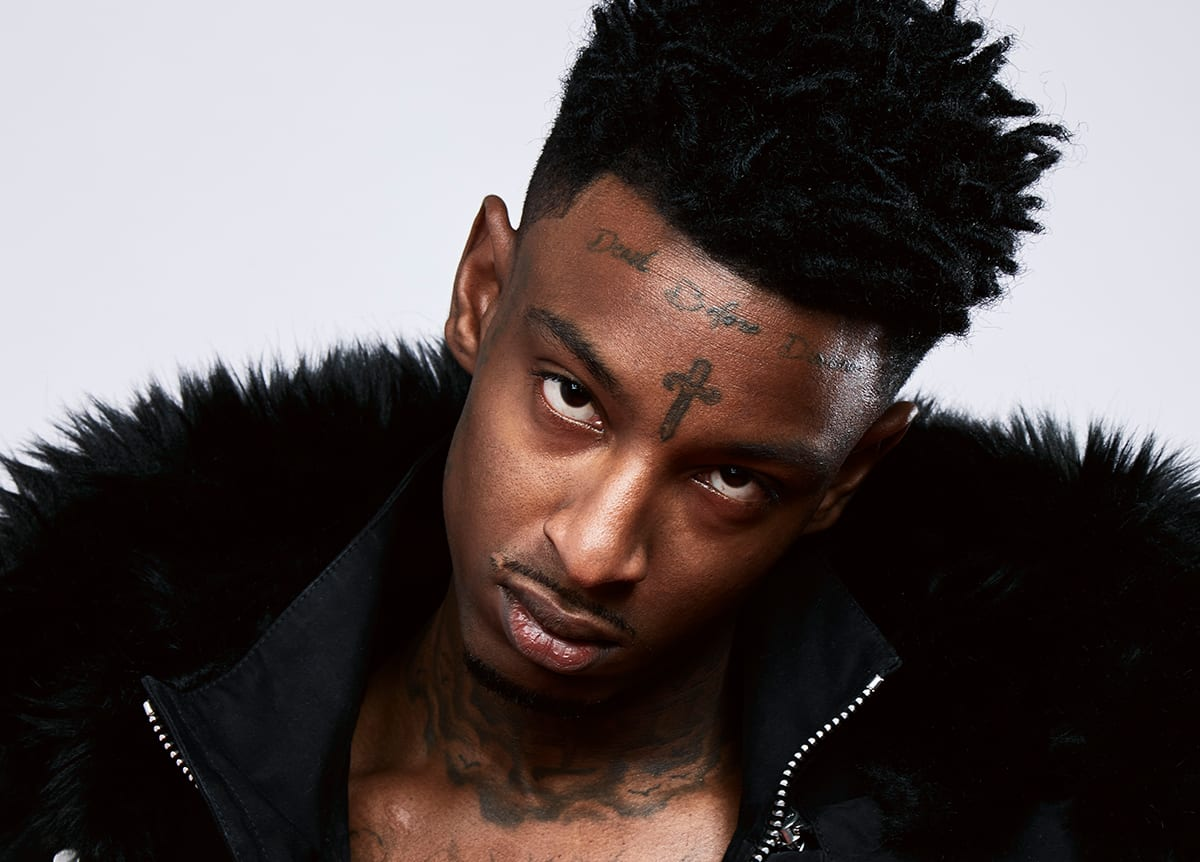 21 Savage Stars In Lookbook Modeling Virgil Abloh S Off White Complex