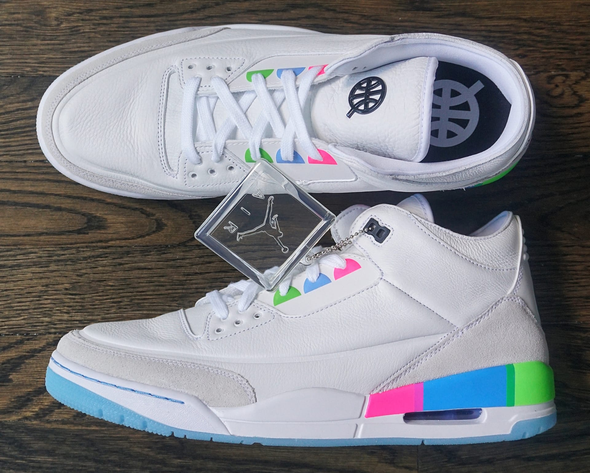 size 40 489fe f2216 Air Jordan III Retro Quai54 2018 (Friends and Family)
