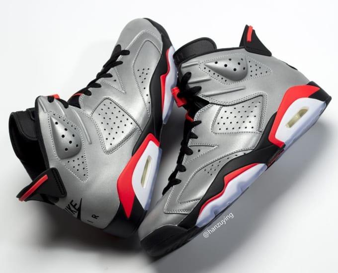 Air Jordan 6 Retro  Reflective Infrared  CI4072-001 6d810f6037