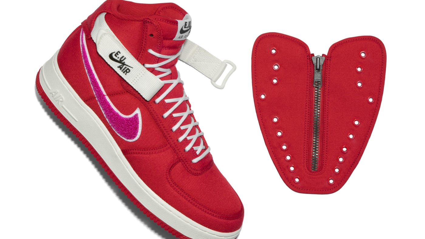 Emotionally Unavailable x Nike Air Force 1 High (Shroud)
