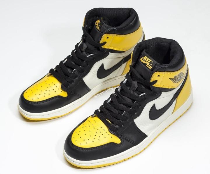 fce1755396e Air Jordan 1 Retro High OG 'Yellow Toe' AR1020-700