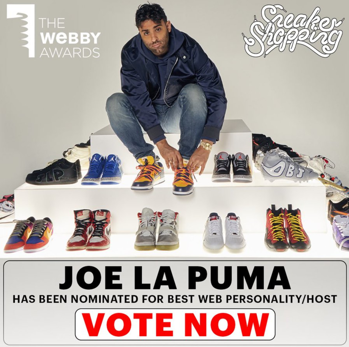 Joe La Puma 'Sneaker Shopping' The Webby Awards